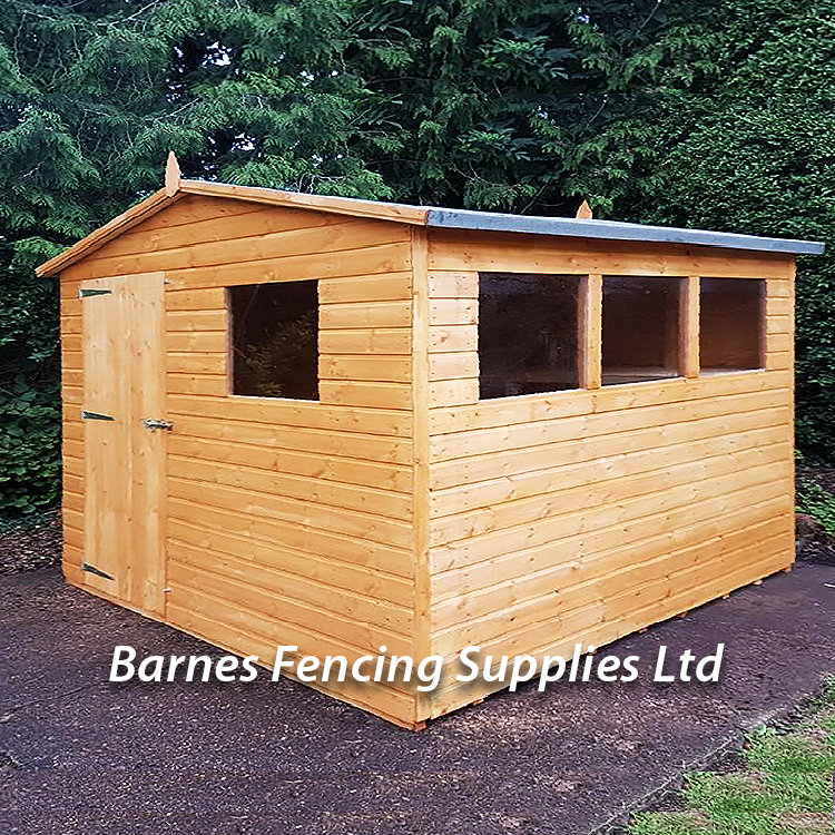 Garden Workshop shed building