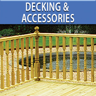 Garden Decking, Boards, Decks