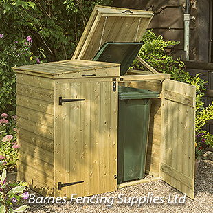 RGP Apex Garden Bin Wooden Storage Unit