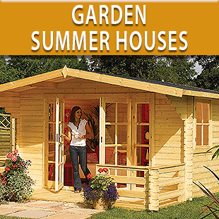Garden Summer Houses, Lodges, Chalets
