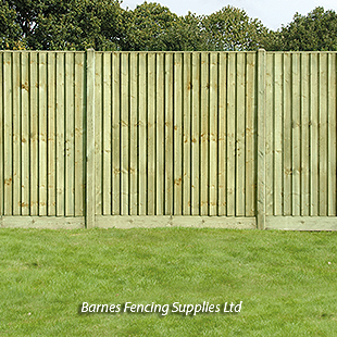 KDM Close Board Fencing