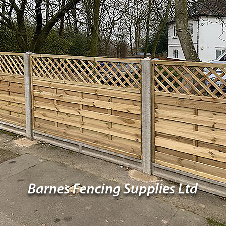 KDM Privacy Lattice Fence Fencing
